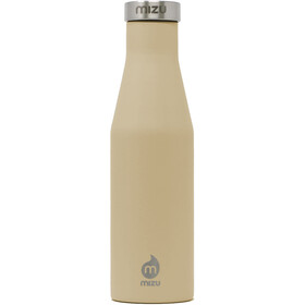 MIZU S4 Insulated Bottle 400ml with Stainless Steel Cap, sand